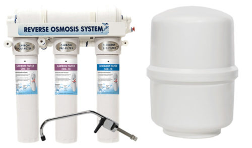 475 Pro Series Reverse Osmosis with Booster Pump